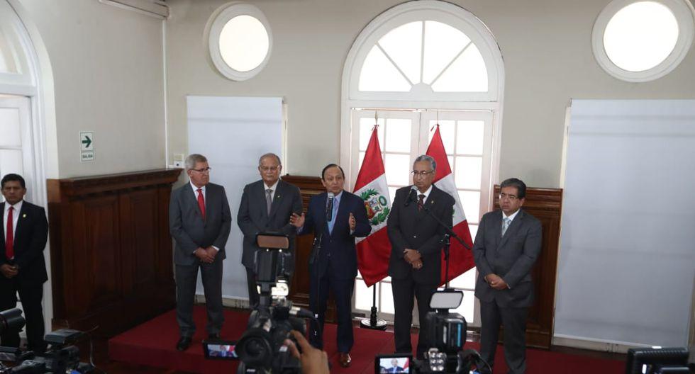 La Comisión Especial de la JNJ prepara las bases para el segundo concurso público. (Foto: GEC)