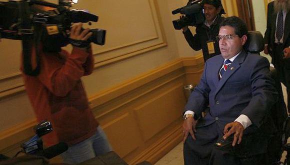 Las sospechas contra Urtecho alcanzan a donaciones de sillas de ruedas. (USI)