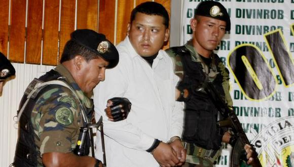 CRIMINAL DETENIDO. Fue presentado en la sede de la Dirincri. (Ernesto Quilcate/USI)