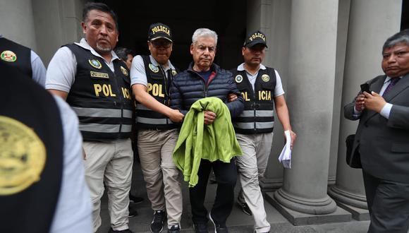 César Villanueva fue detenido por presunto tráfico de influencias. (Foto: GEC)