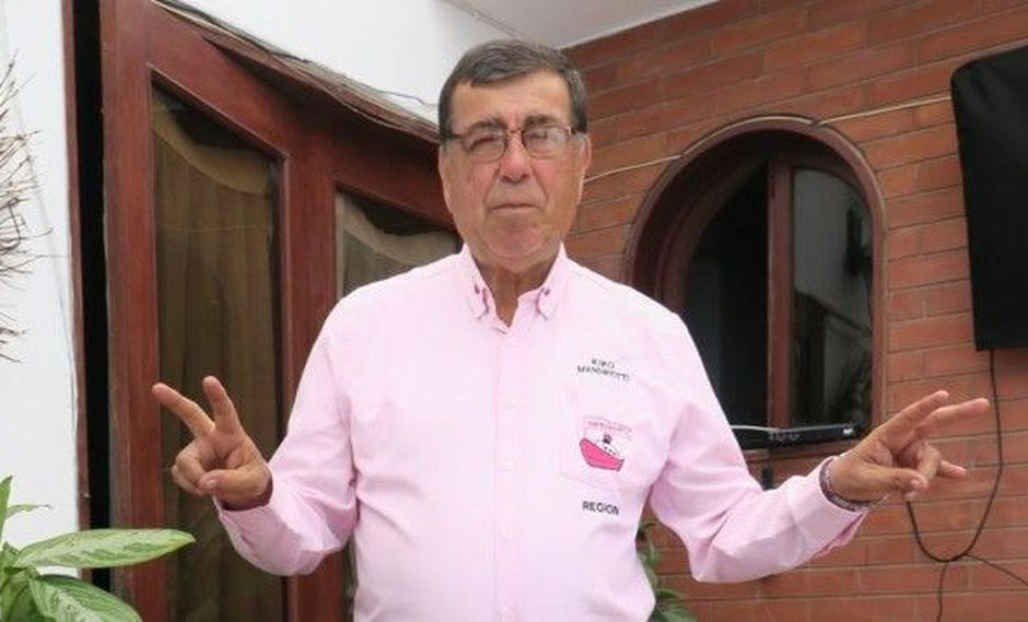 Dante Mandriotti es el actual gobernador regional del Callao. (Foto: GEC)