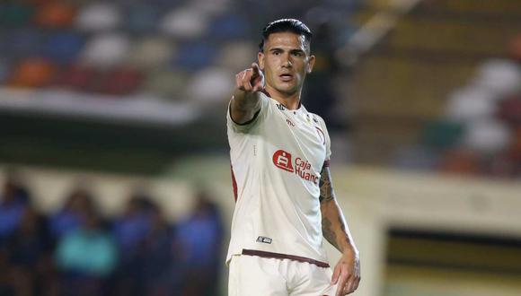Jonathan Dos Santos salió lesionado en el partido ante Sporting Cristal. (Foto: GEC)