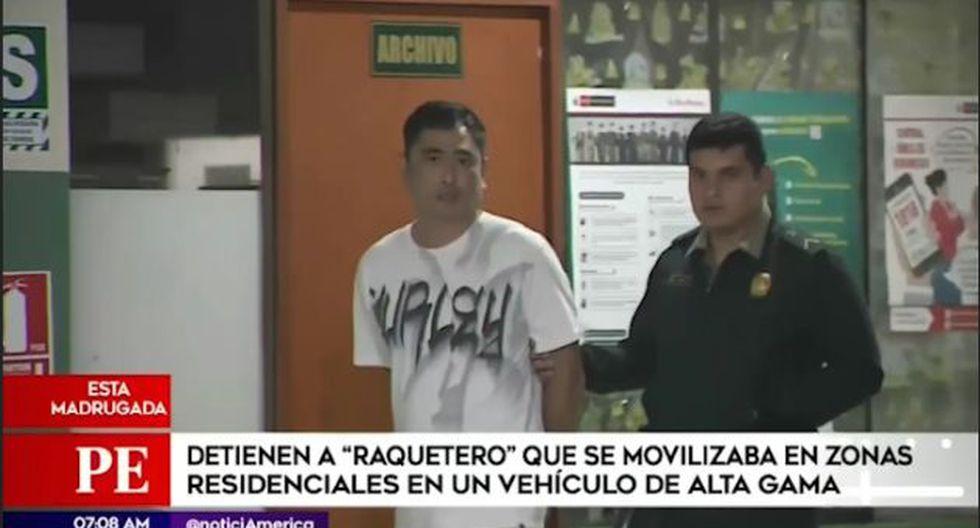 Al interior del moderno auto se encontraron varios documentos de identidad de las presuntas víctimas.  (Captura. América Noticias)