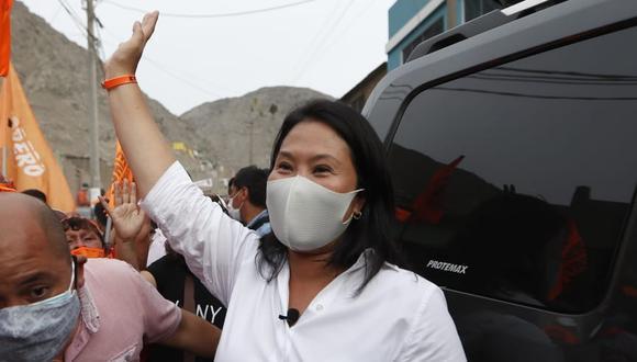 La candidata de Fuerza Popular, Keiko Fujimori, participó en el primer día del debate presidencial organizado por el JNE. (Foto: GEC)
