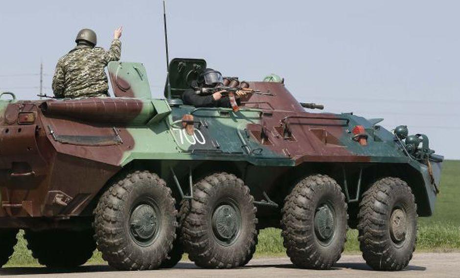 Presidente interino de Ucrania exige a Rusia repliege de sus tropas. (Reuters)