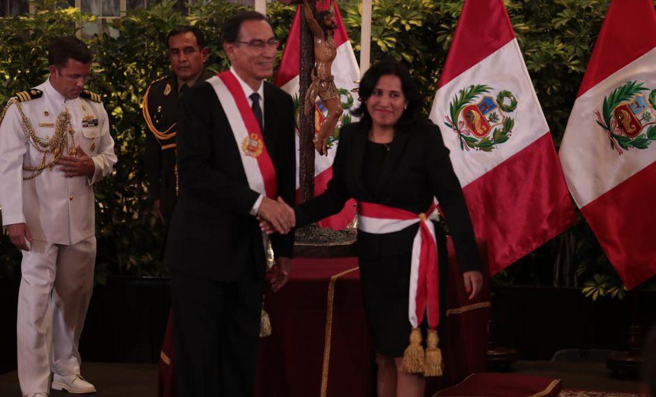 El sector Educación está a cargo de la ministra Flor Pablo Medina. (Foto: Hugo Pérez / GEC)