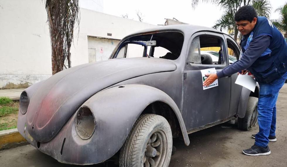 Conductores que dejen sus vehículos abandonados serán multados. (Foto: Municipalidad de Magdalena)