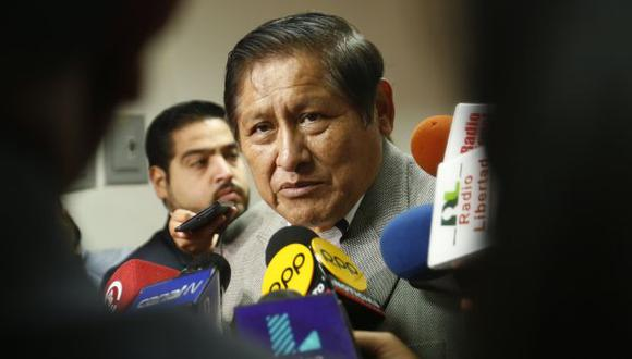 Juan Pari enviará su informe en minoría a Ministerio Público y Procuraduría. (Piko Tamashiro)