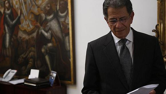 Óscar Urviola confía en superar impasse entre el TC y el CNM. (USI)