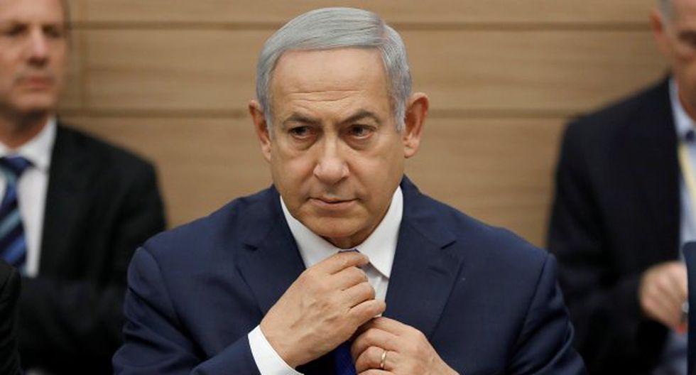 """Benjamín Netanyahu señaló que """"Israel sabe muy bien cómo defenderse del régimen asesino iraní"""". (Foto: EFE)"""