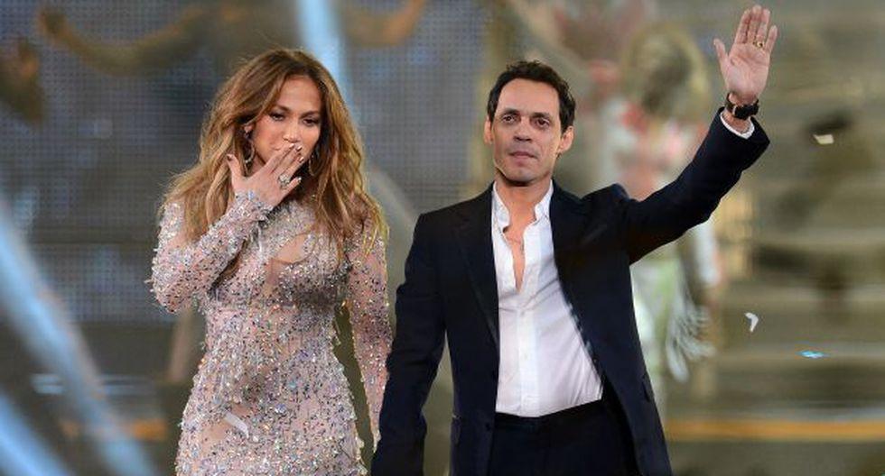 Durante su relación, J.Lo y Marc Anthony tuvieron a los gemelos Max y Emme. (AFP)