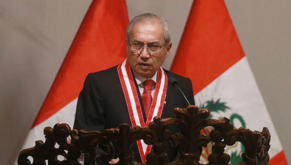 El fiscal de la Nación, Pedro Chávarry, ha presentado denuncias constitucionales contra congresistas y ex ministros. (FOTO: USI)