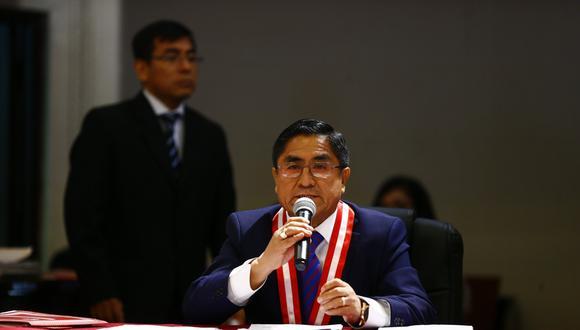 Destituido juez César Hinostroza. (Perú21)