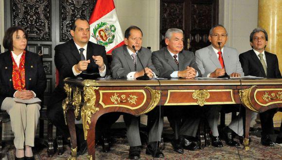 Consenso. Los ministros señalaron que hubo un acuerdo unánime para sacar adelante el proyecto. (Difusión)