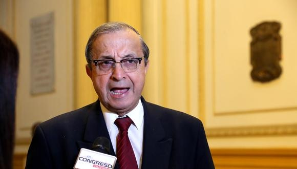 Carrasco indicó que hasta el momento el Partido Morado no ha remitido a su despacho un documento que evidencie un acuerdo respecto a la separación de Mora. (Foto: Congreso)
