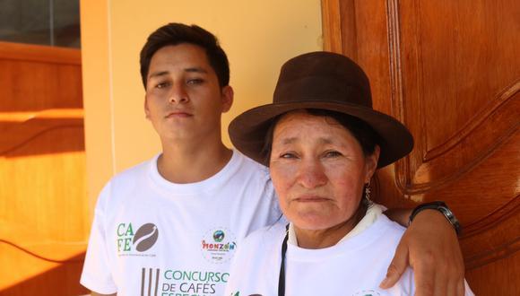 Jetman Noreña y Dalila Godoy. Foto: Ruta del Café Peruano.