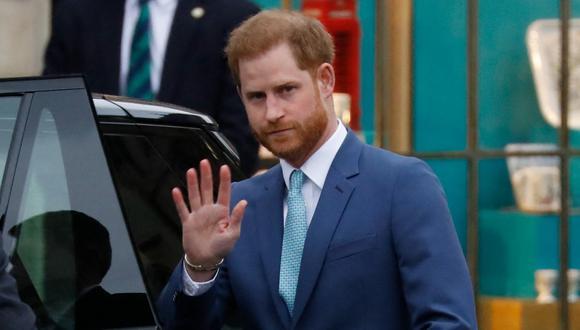 El príncipe Enrique de Sussex. (Foto: AFP)