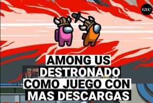Among Us: Destronado como juego más descargado por usuarios