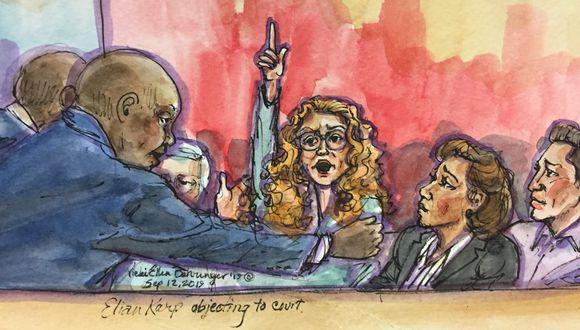 Eliane Karp: ilustradora graficó el exabrupto de la esposa de Alejandro Toledo. (Foto: Reuters)