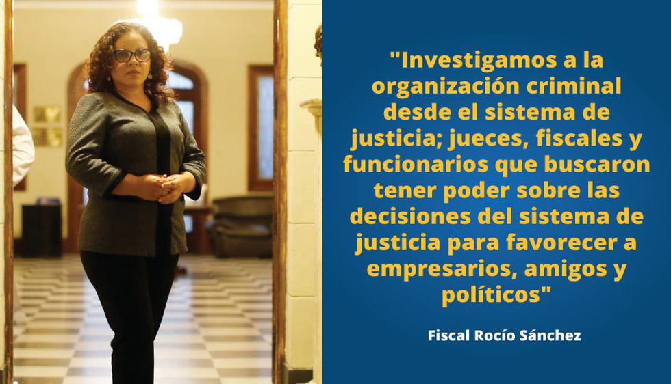 Fiscal Rocío Sánchez