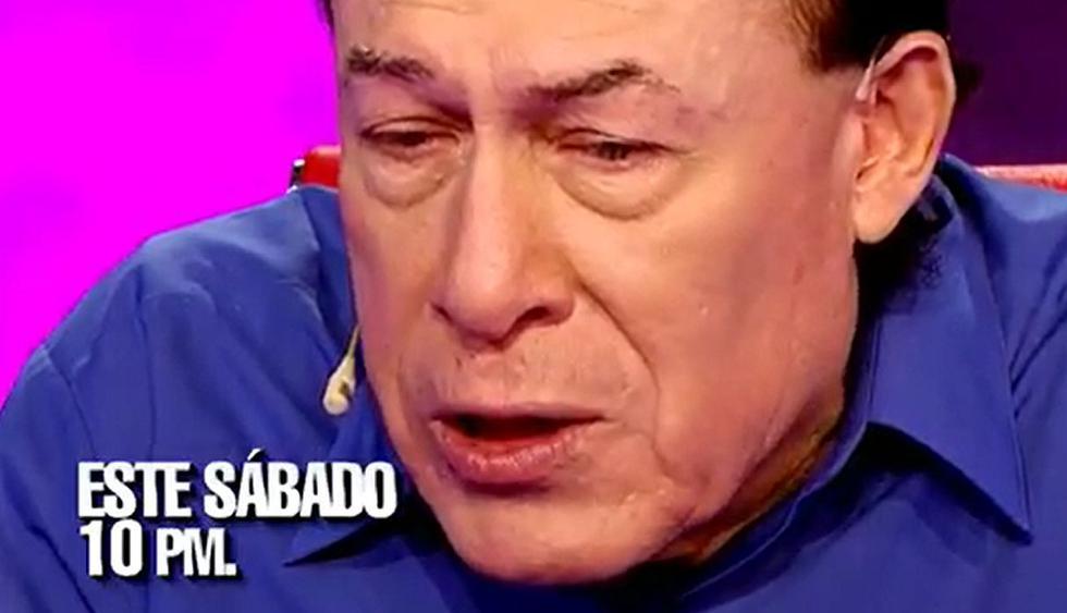 """""""El valor de la verdad"""" libera adelanto con la participación de 'Yuca' en el temido sillón rojo. (Foto: Captura de video)"""