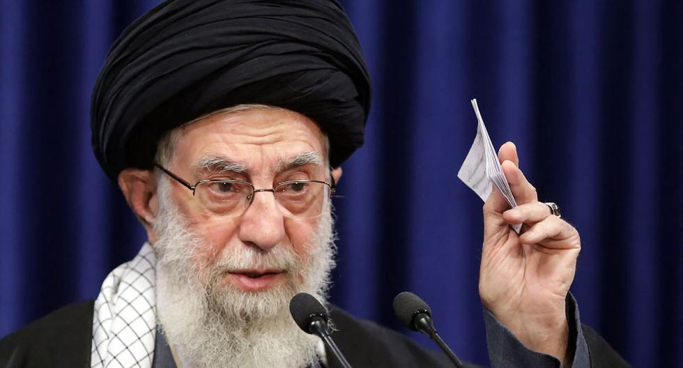El ayatola Alí Jamenei. (AFP).