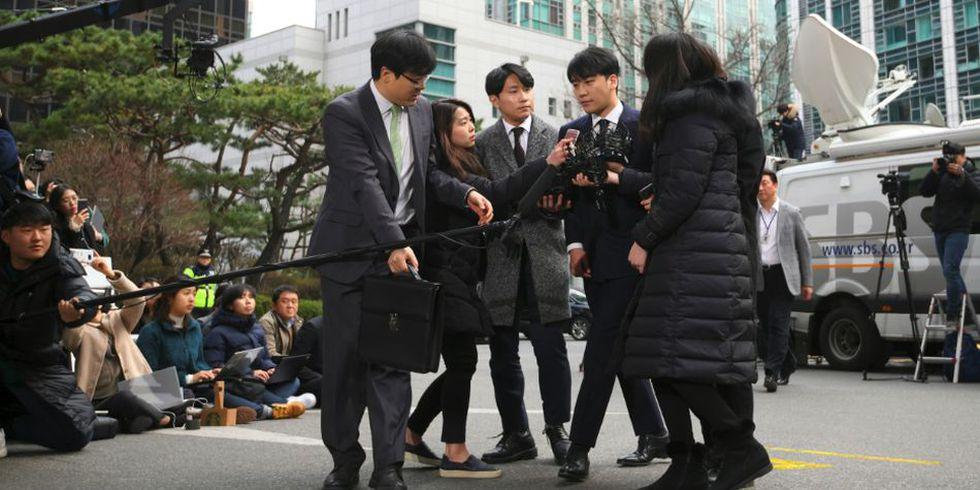 El 11 de marzo de 2019, Seungri se retiró de la industria del entretenimiento para poder colaborar mejor con la investigación. (Foto: AFP)