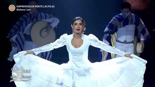 'Reinas del Show': Korina Rivadeneira deslumbró con una marinera