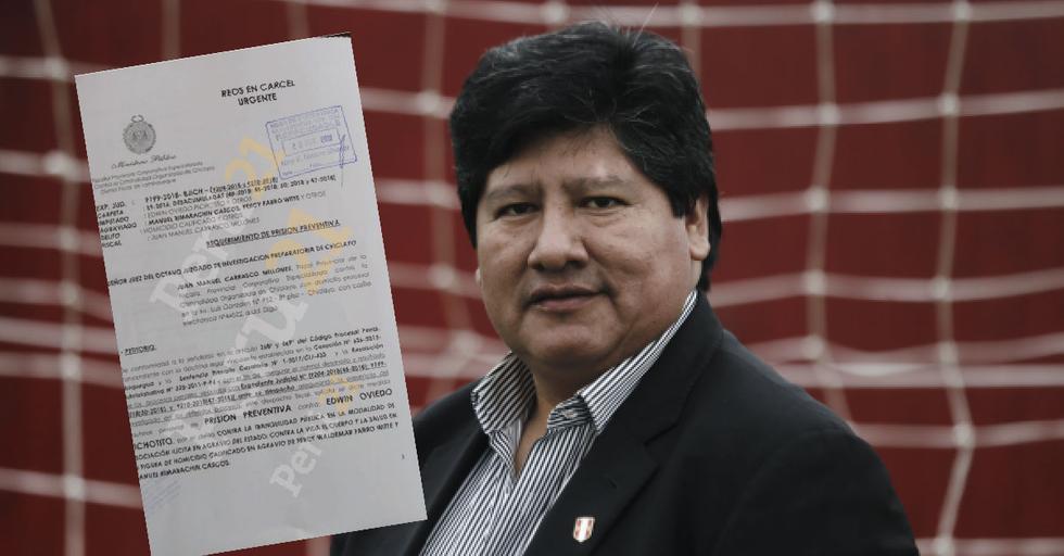 Juan Carrasco presentó acusación contra Edwin Oviedo por encabezar la red criminal Los Wachiturros de Tumán y ser el autor mediato de la muerte de dos dirigentes azucareros. (Perú21)