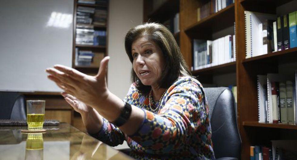 Lourdes Flores confirmó su apoyo a la candidatura de Pedro Pablo Kuczynski. (Perú21)
