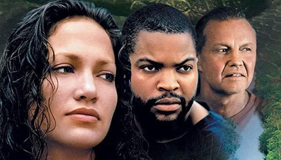 "Jennifer Lopez, Ice Cube y Jon Voight protagonizaron ""Anaconda"" en 1997 (Foto: Sony Pictures)"