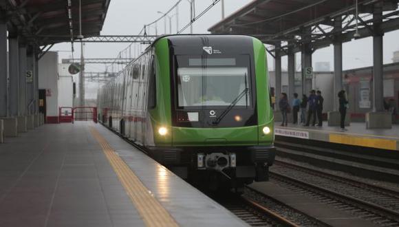 Posible tsunami no afectaría la Línea 2 del Metro en el Callao. (USI)