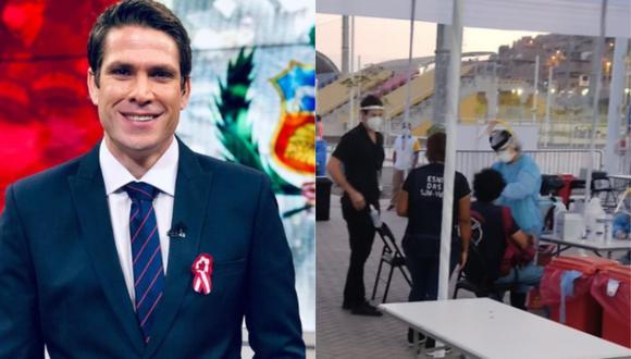 Paco Bazán se vacunó contra el coronavirus. (Foto: @franciscobazan/@@contracultural)