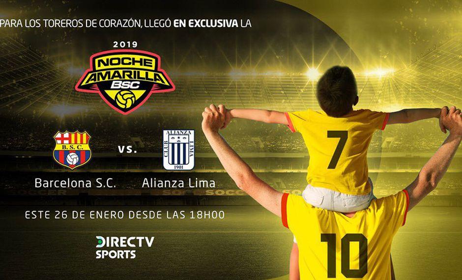 Alianza Lima disputará su primer partido ante Barcelona en Ecuador. (Foto: Twitter Barcelona SC)