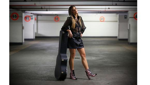 Conversamos con la cantante Anna Carina. (Perú21/ Rafael Cornejo)