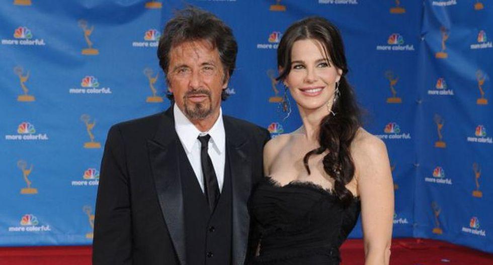 Al Pacino y Lucila Polak. El reconocido actor de El Padrino tiene 72 años, y la modelo argentina, solo 32. (Agencias)