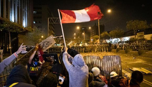 En la última marcha fallecieron dos jóvenes.  (Foto: El Comercio)