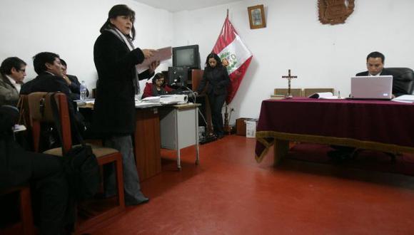 La fiscal Lozada defendió su informe sobre el caso. (Heiner Aparicio)