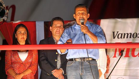 Humala podría desfilar pronto por la Fiscalía de Derechos Humanos que investiga torturas y desapariciones en 1992. (Foto: Dante Piaggio/ Archivo El Comercio)