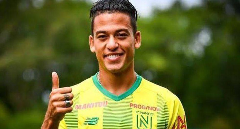 Cristian Benavente vuelve a una convocatoria de la Selección Peruana luego de casi un año. (Foto: FC Nantes)