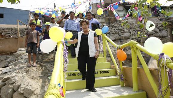 QUE BAJE AL LLANO. Alcaldesa Villarán tendrá que tomar en cuenta la legislación electoral. (Luis Gonzales)