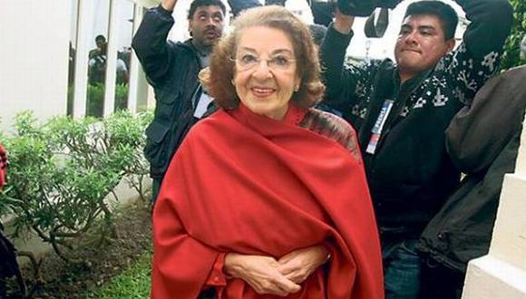 UNA VEZ MÁS. Suegra de Toledo no piensa acudir al Congreso. (USI)