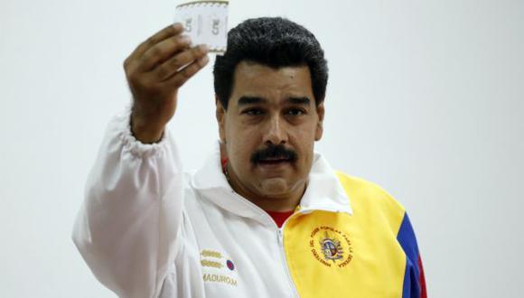 Nicolás Maduro recibió el apoyo de la población pese a las altas tasas de inflación y desabastecimiento que impera en Venezuela. (Reuters)