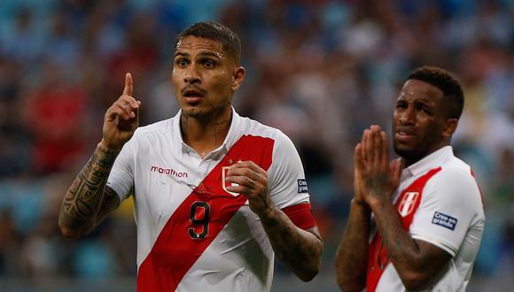 Jefferson Farfán y Paolo Guerrero han sido participantes activos en la selección peruana. Pero también han sabido estar ausentes. (Foto: AFP)