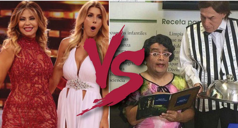 'El Wasap de JB' le pisa los talones en rating a 'El Gran Show'. (Perú21)