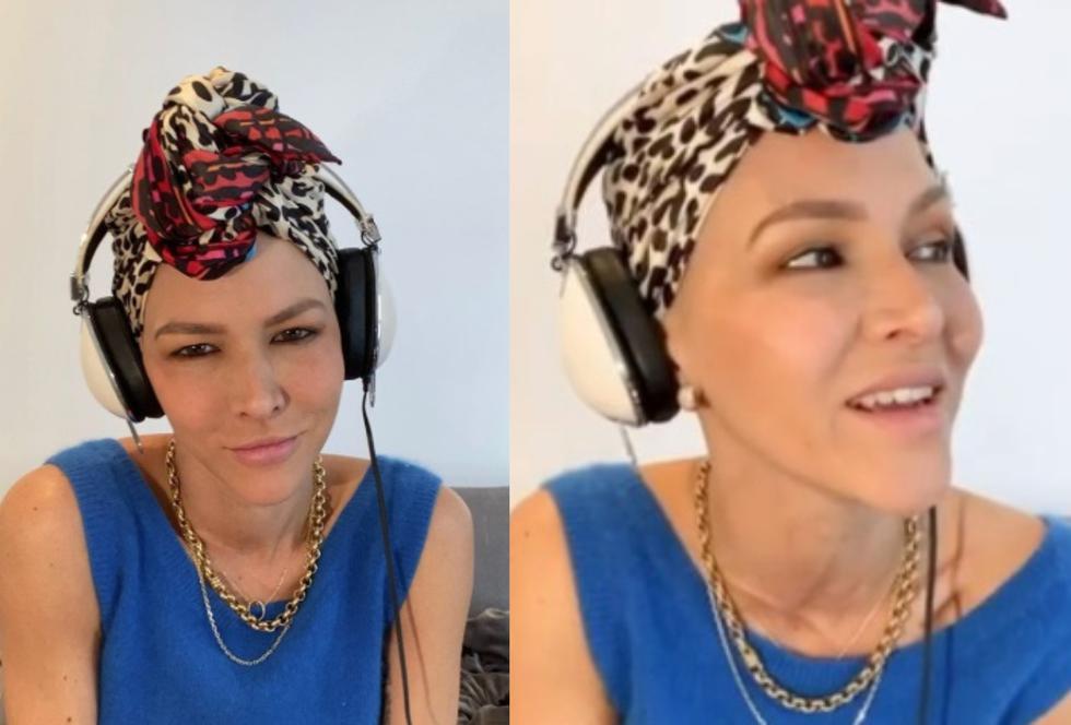 En redes sociales, celebró su última quimioterapia cantando. (Foto: Instagram)
