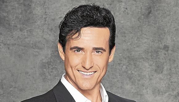 Carlos Marín. Cantante del grupo Il Divo (Difusión)