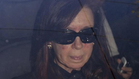 CAMBIO. Mandataria argentina presentó síntomas que determinaron una pronta cirugía. (AP)