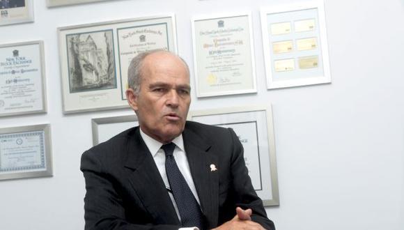 Roque Benavides se inscribió en el Apra días antes de vencer el plazo para la incorporación de nuevos militantes en las agrupaciones políticas. (GEC)