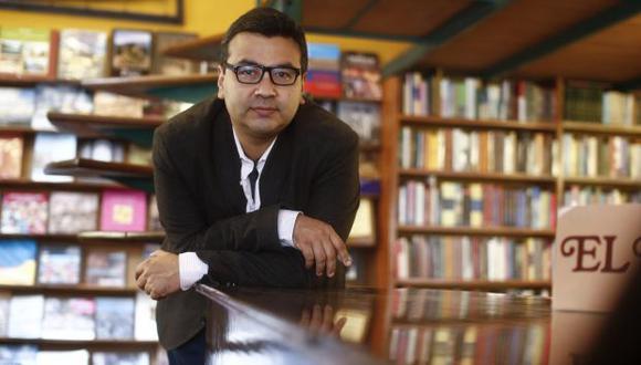 Iparraguire ganó el Premio Nacional PUCP con su primer libro. (Atoq Ramón)